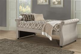 Hunter Backless Daybed - Sides - Linen Sandstone
