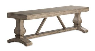 ARABELLA BENCH TOP - DISTRESSED GRAY