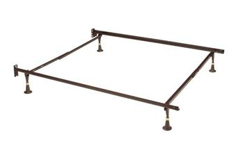 Twin/Full 4 Leg Headboard Frame - Brown