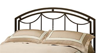 Arlington Headboard in Bronze Metal (Bed Frame Not Included) - King