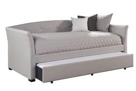 MORGAN DAYBED WITH TRUNDLE, DOVE GRAY