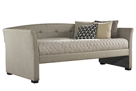 MORGAN DAYBED, NATURAL HERRINGBONE