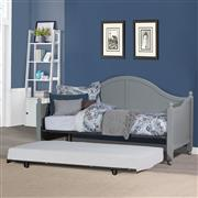 Augusta Daybed with Roll-Out Trundle - Gray