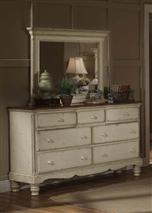 Wilshire Mirror Antique White
