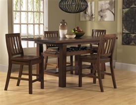 Outback 5pc Counter Height Dining Set