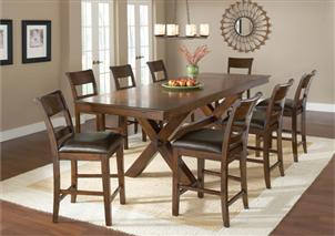 Park Avenue 9pc Counter Dining Set