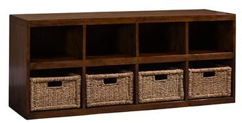 Tuscan Retreat® Bottom Basket Storage Unit