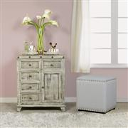 Bolt Tier Cabinet - Light Graywash