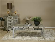 Bolt Coffee Table - Light Graywash