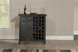 Tuscan Retreat® Rose Bay WIne Rack - Weathered Gray