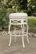 Callen Backless Indoor/Outdoor Counter Stool  - White Washed