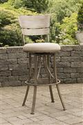 Wakefield Indoor/Outdoor Swivel Bar Height Stool