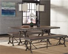 Paddock 3-Piece Rectangle Dining Set
