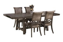 Legacy 5 Piece Dining Set - Dark Gray