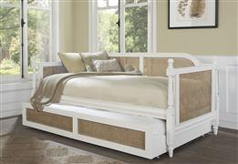 Melanie Daybed - Back, Rails, and Slats - White