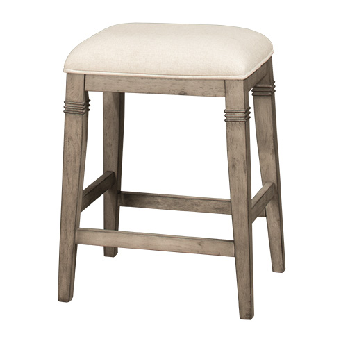 Arabella Backless Non Swivel Counter Stool