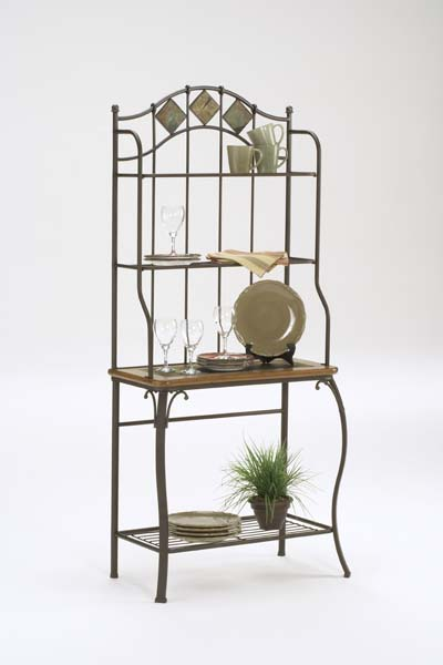 Lakeview Bakers Rack Slate Top